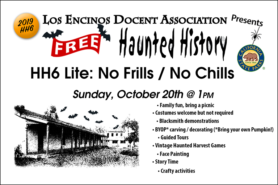 Haunted History HH6 Oct 20th
