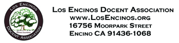 Los Encinos Docent Association Logo Footer