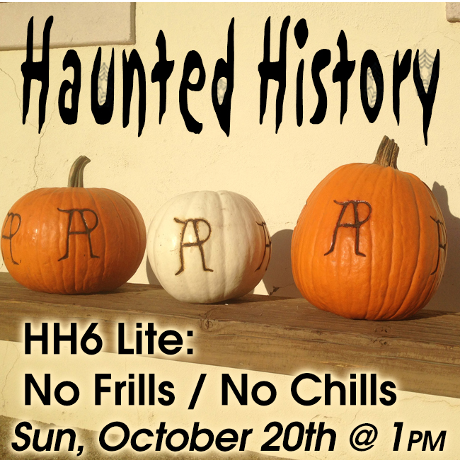 Haunted History hh6 2019